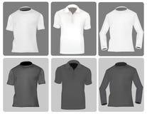 Clase tres de camisas (hombres). Fotos de archivo