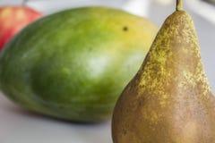 Clase tres de frutas imágenes de archivo libres de regalías