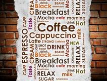Clases de café Fotos de archivo