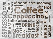 Clases de coffe Fotos de archivo libres de regalías