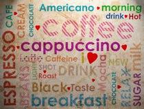 Clases de coffe Imagen de archivo
