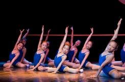 Clases de danza: formación básica Fotos de archivo libres de regalías
