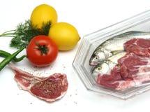 Clases de la comida imagenes de archivo