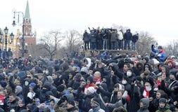 clash Россия Стоковая Фотография