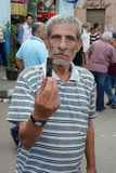 Clashes between demonstrators and Muslim Brotherhood Stock Photos