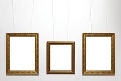 Clasick houten kader Royalty-vrije Stock Foto