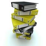 Clasifiando, archivos de ordenación Fotos de archivo