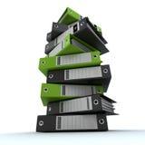 Clasifiando, archivos de ordenación Fotografía de archivo libre de regalías