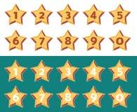 Clasificación de cinco estrellas Fotos de archivo