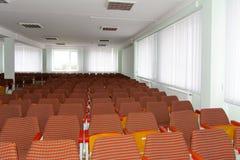 Clasifique para las conferencias en una institución educativa más alta de Zhytomyr adentro fotos de archivo