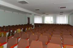 Clasifique para las conferencias en una institución educativa más alta de Zhytomyr adentro fotografía de archivo libre de regalías