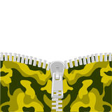 Clasp on camouflage Stock Image