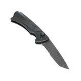 Clasp steel knife Stock Photos