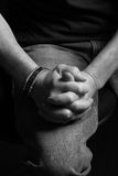 Clasped Hands Stock Images