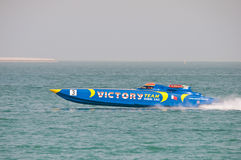 Class 1 racing in Doha Qatar Stock Photo