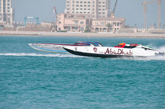 Class 1 racing in Doha Qatar Stock Images