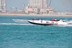 Class 1 racing in Doha Qatar Stock Images