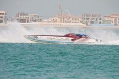 Class 1 racing in Doha Qatar Royalty Free Stock Image