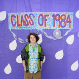 Class of 1984 Graduation Royalty Free Stock Photo