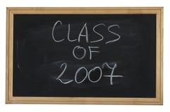Class of 2007 Stock Photo