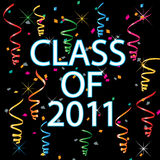 Class of 2011 Stock Image