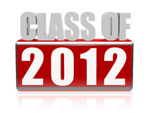 Class of 2012 Stock Images