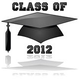 Class of 2012 graduation Stock Images