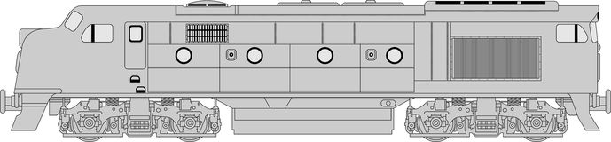 Class 421 loco Stock Images