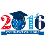 Class of 2016 Royalty Free Stock Image