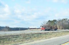 Class C Auto Transport Semi Trailer On Highway Royalty Free Stock Photo