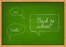 Class chalkboard Royalty Free Stock Photo