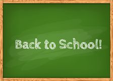Class chalkboard Royalty Free Stock Images