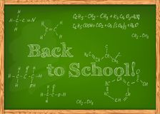 Class chalkboard Royalty Free Stock Photo
