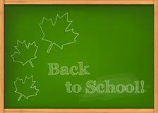 Class chalkboard Stock Image