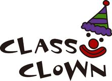 Class Clown Royalty Free Stock Photo