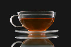 Class cup and saucer Stock Photo