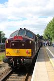 Class 37 diesel on the Lakelander special train Stock Photography