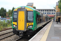 Class 172 diesel multiple unit at Kidderminster Stock Photos