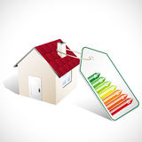 Class energy home Royalty Free Stock Image