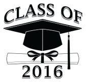 Class of 2016 - Graduate Stock Photo