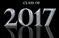 Class of 2017 Stock Photo