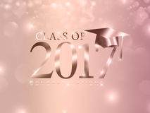 Class of 2017 Stock Image