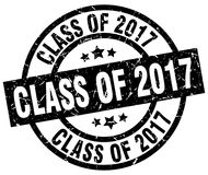 Class of 2017 stamp. Class of 2017 grunge vintage stamp isolated on white background. class of 2017. sign royalty free illustration