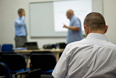 Class lecture Stock Photography