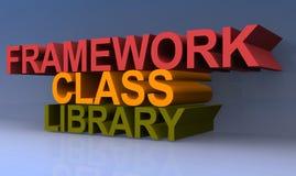 Class library della struttura illustrazione vettoriale