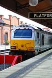 Class 67 loco in station, Birmingham. Royalty Free Stock Photos