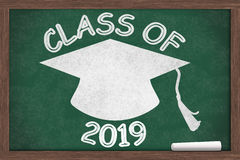 Class of 2019 Message Royalty Free Stock Image