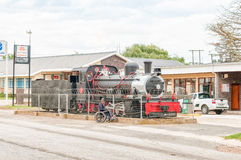 Class NG15 steam engine on display in Avontuur Royalty Free Stock Image