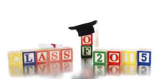 Class Of 2015 Stock Images