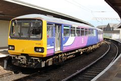 Class 144 Pacer diesel multiple unit train. Stock Photography